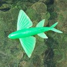 MPC Sea Creatures: Flying Fish in Regular Issue Green (Probable Recast)