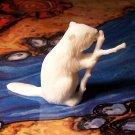 Marx Beaver, North American Wild Animals Series, White, Recast