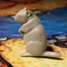 Marx Ground Hog, North American Wild Animals Series, Gray, Original '50s-'60s