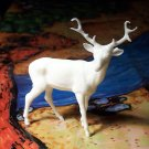 Marx 'Robin Hood' Stag, North American Wild Animals Series, White, Recast