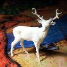 Marx 'Robin Hood' Stag, North American Wild Animals Series, White, Recast