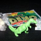 SCARCE 1988 Topps Plastic Dinosaur Trachodon, Green, Wrapper, ID Sheet, Candy Eggs