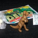 SCARCE 1988 Topps Plastic Dinosaur Iguanodon, Brown, Wrapper, ID Sheet, Candy Eggs