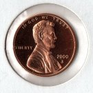 U.S. 2000-S Proof Lincoln Cent