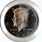 U.S. 2007-S Proof Kennedy Half Dollar