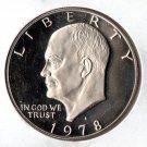 U.S. 1978-S Proof EisenhowerDollar