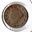 """U.S. 1912 Liberty Head """"V"""" Nickel"""