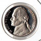 US 1981-S Proof Jefferson Nickel