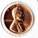 U.S. 1961 Proof Lincoln Cent