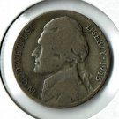 U.S. 1945-D Jefferson .35 percent Silver War Nickel