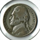 U.S. 1944-P Jefferson .35 percent Silver War Nickel