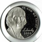 U.S. 2006-S  Proof Jefferson Nickel