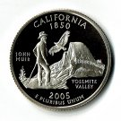U.S. 2005-S Proof California State Washington Quarter