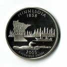 U.S. 2005-S Proof Minnesota State Washington Quarter