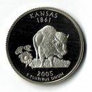 U.S. 2005-S Proof Kansas State Washington Quarter