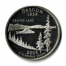 U.S. 2005-S Proof Oregon State Washington Quarter