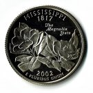 U.S. 2002-S Proof Mississippi State Washington Quarter
