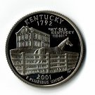 U.S. 2001-S Proof Kentucky State Washington Quarter