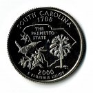 U.S. 2000-S Proof South Carolina State Washington Quarter