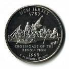 U.S. 1999-S Proof New Jersey State Washington Quarter