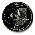 U.S. 2002-S Proof Indiana State Washington Quarter