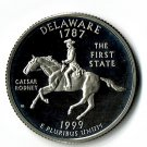 U.S. 1999-S Proof Delaware State Washington Quarter