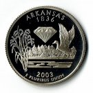 U.S. 2003-S Proof Arkansas State Washington Quarter