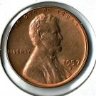 U.S. 1957-D Uncirculated Lincoln Cent
