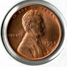 U.S. 1952-D Uncirculated Lincoln Cent