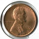U.S. 1951-S Uncirculated Lincoln Cent