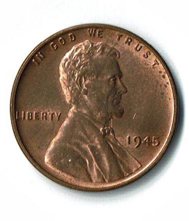 U.S. 1945 Uncirculated Lincoln Cent