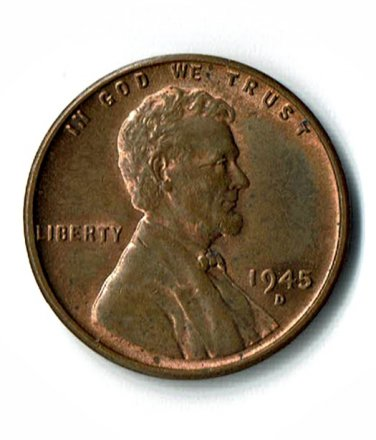 U.S. 1945-D Uncirculated Lincoln Cent