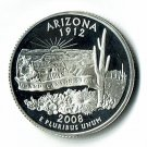U.S. 2008-S Proof Arizona State Washington Quarter