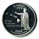 U.S. 2008-S Proof Hawaii State Washington Quarter