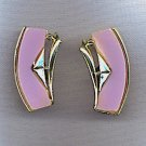 VINTAGE RETRO THERMOSET EARRINGS