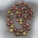 INCREDIBLE VTG. 2 STRAND BEAD NECKLACE