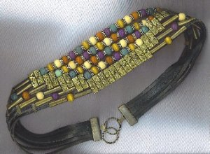 FABULOUS BEADED VTG. BELT