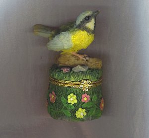 DARLING BIRD TRINKET BOX