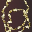 "AMAZING CARVED SHELL 36"" NECKLACE"