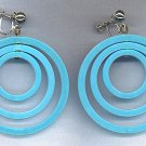 "FANTASTIC ""MOD"" HOOP EARRINGS"