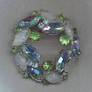 SALE!! EXQUISITE VTG. RHINESTONE BROOCH