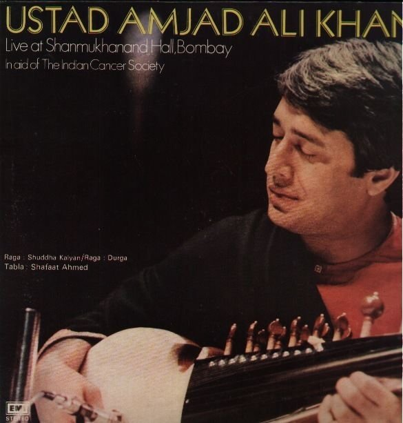 Ustad Amjad Ali Khan - Live at Shanmukhanand Hall (LP)