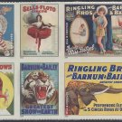 #4898-4905 (49c Forever) Vintage Circus Posters 2014 Mint NH