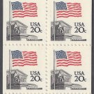 #1896e BK140a 20c Flag over Supreme Court Booklet of 20 1983