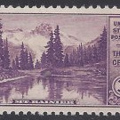 #742 3c National Parks Issue: Mt. Rainier 1934 Mint NH