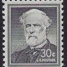 #1049 30c Liberty Issue Robert E. Lee 1957 Mint NH