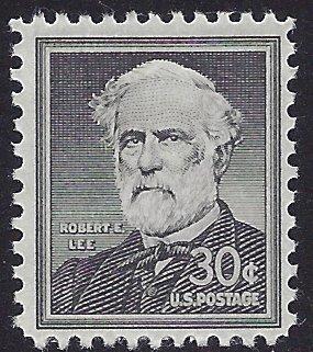#1049 30c Liberty Issue Robert E. Lee 1957 Mint NH