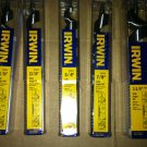 New Irwin Tools Short Ship Auger Drill Bits Assortment (5 sizes) 7 1/2 Inch