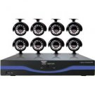 Night Owl Security Products 8-Channel DVR with 500GB HDD, HDMI and 8 Night Vision Cameras
