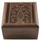 Wooden Jewelry Box from India Unusual Presents for Girlfriend
